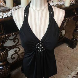 Gorgeous Cache Silk Lined Tank!